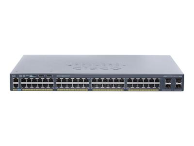 Cisco Catalyst 2960X-48TS-L - Switch - Managed - 48 x 10/100/1000 +